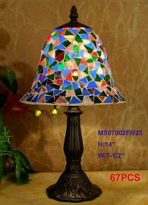 Amazing Mosaic Tiles Table Lamp Light Lounge Living Bedroom New Unique 6D5