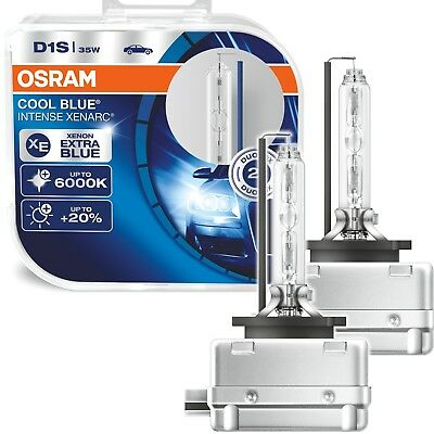1x DUO BOX Xenon D1S 35W OSRAM XENARC COOL BLUE INTENSE 66140CBI