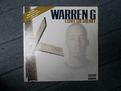 "Warren G I Shot The Sheriff 12"" Def Jam 1997 12 DEF 31"