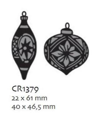 Marianne Design Stanzschablone Craftables Tiny`s Ornaments Flitter CR1379