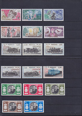 059646 Monaco Stamps Briefmarken ** MNH - Lot