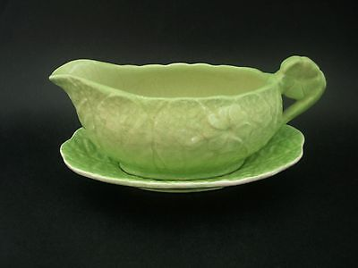 Royal Winton Grimwades Cabbage Leaf Vintage English China Gravy Sauce Boat