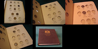 Syria 1962-2003 used coin album + 12 of 44 coins (some wear & tear)