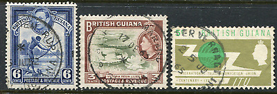 BRITISH GUIANA: (17994) LETHEM RUP etc skeleton cancel