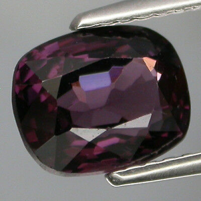 CHARMING COLOR! 2.16 ct. 100%NATURAL TOP PURPLE SPINEL UNHEATED MOGOK VVS