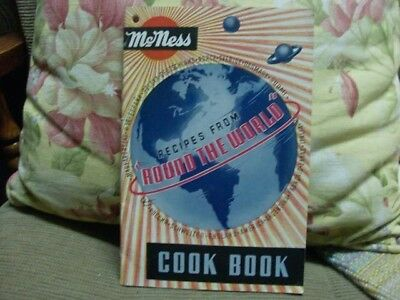 "Vintage F.W. McNess Cookbook - Recipes From ""Round The World"""