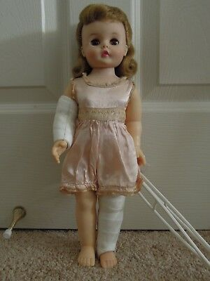 Madame Alexander Marybel Gets Well Doll 1950's Excellent Condition