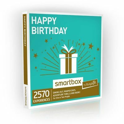 Buyagift Happy Birthday Gift Experiences Box - Over 2570 Experiences