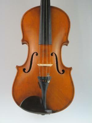 Interesting German Antique 4/4 Violin Andreas Luther 1920 Tyrol