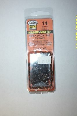 Kadee HO #14 Bulk Pack, 25 Pair #148 Couplers
