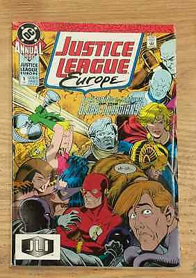 Justice League Europe Annual #1 Medley Giffen DC Copper Age Comic Book VF  bn 2