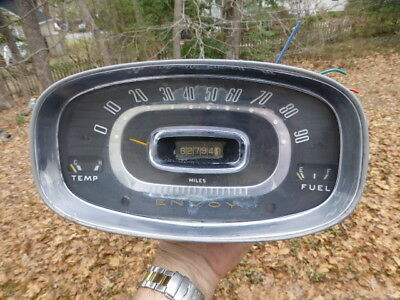 1959 1960 Canadian GM Envoy Special Instrument Cluster Speedometer Gauges 62,794