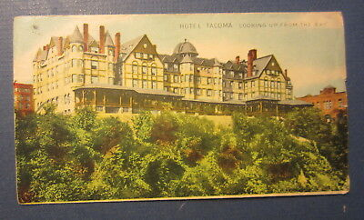 Old 1910's - HOTEL TACOMA - Washington - Full Color - ADVERTISING COVER Envelope
