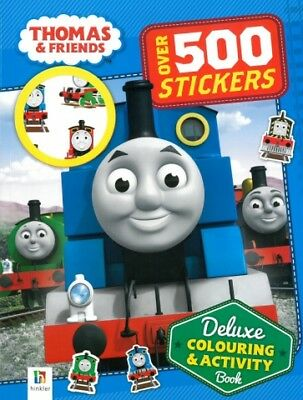 Thomas And Friends  Deluxe Colouring And Activity '