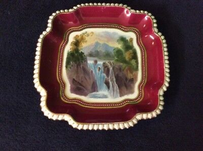 Copeland Spode Beaded Waterfall And Mountain Design,