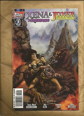 XENA Warrior Princess  Joxer Warrior Prince 2 1997  Art Cover Topps Comics
