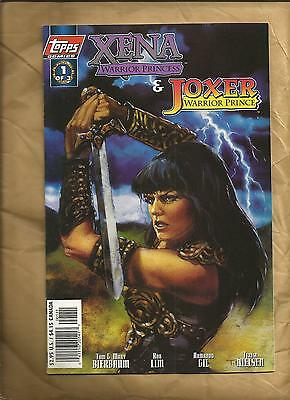 XENA Warrior Princess  Joxer Warrior Prince 1 1997  Art Cover Topps Comics