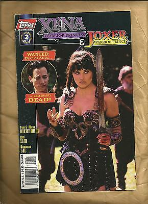 XENA Warrior Princess  Joxer Warrior Prince 2 1997  Photo Cover Topps Comics