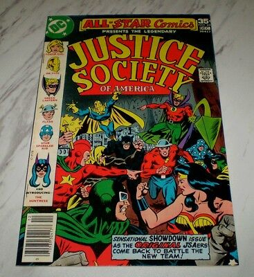 All Star Comics #69 NM- 9.2 OW Unrestored 1977 DC JSA 1st Earth-2 Huntress