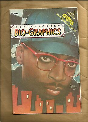 Contemporary Bio-graphics 7 1992 Spike Lee Revolutionary Comics