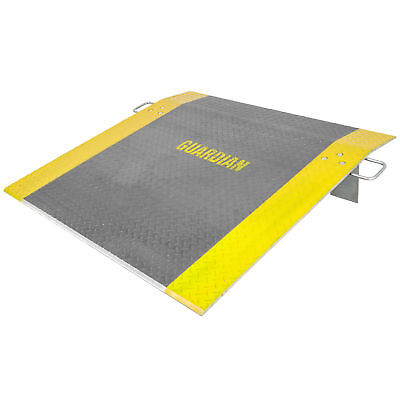 "48"" x 48"" Guardian Aluminum Loading Dock Plate 3,800lb Capacity"