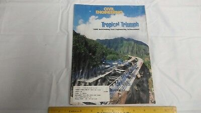 Civil Engineering Mag July 1998 Projects in Hawaii Chicago San Francisco +++
