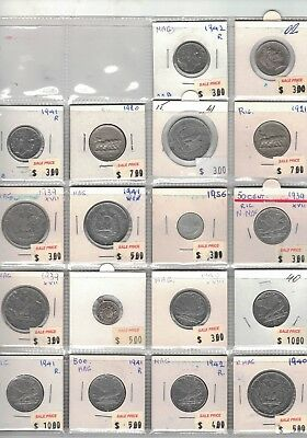 1920 to 1942 Italy 18 coins to better clearance