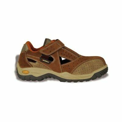 """Cofra 75540-004.W44 Size 44 S1 P SRC """"New Tango"""" Safety Shoes - Brown"""