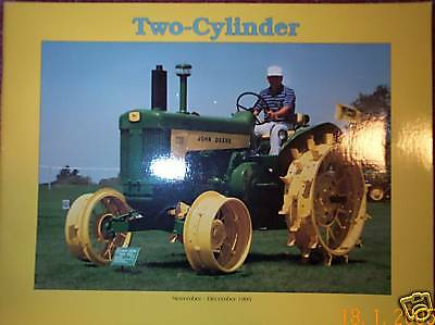 John Deere TWO CYLINDER Tractor Magazine 1995 JD