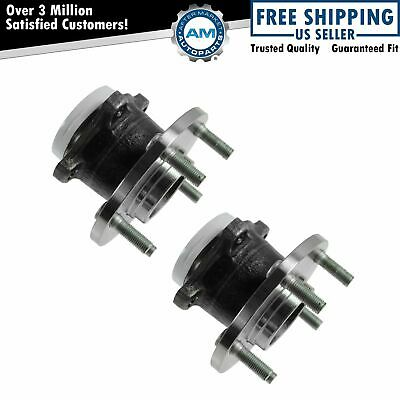 Wheel Bearing & Hub Assembly Rear Pair Set for Mazda 3 5 ABS NEW