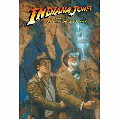 Indiana Jones and the Spear of Destiny, Volume 4 - Library Binding NEW Elaine Le