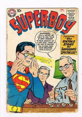 Superboy # 70 The Super-Brat ! grade 2.5 scarce book !!