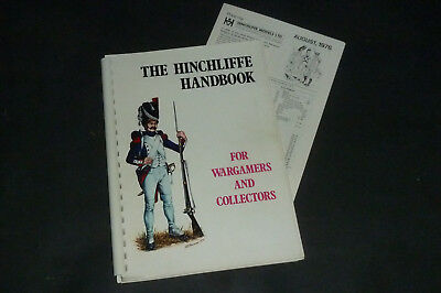 The Hinchliffe Handbook for Wargamers & Collectors 1976 & Pricelist