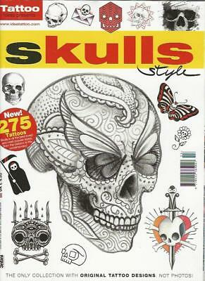TATTOO IDEAS PRESENTS- SKULLS STYLE (NEW)*Post included to UK/Europe/USA