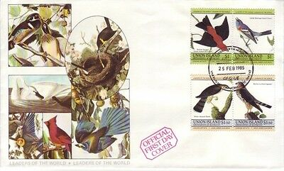 Grenadines of St. Vincent (Union Is.) - Bird Issue (PO FDC) 1985