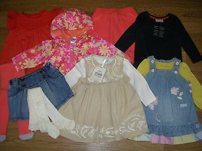 NEXT ROCHA TED BAKER Girls Bundle Outfits Dress Tops Leggings Age 3-6m