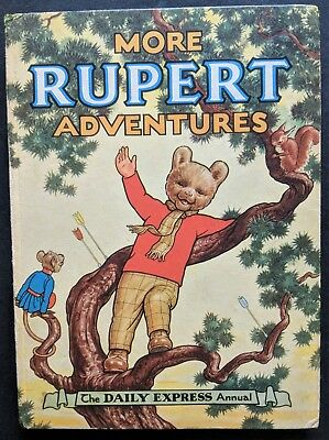 Rupert Annual 1952...original..not Inscribed Or Clipped...greycaine's....superb