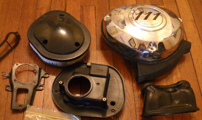 2017 Indian Chieftain Elite Motorcycle Air Cleaner Assembly #5415270 No HARDWARE
