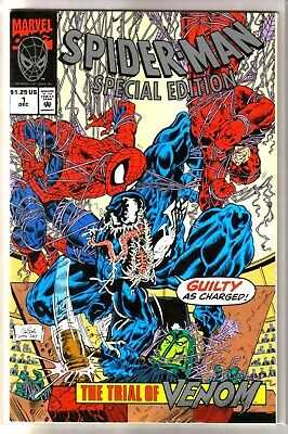 SPIDERMAN Special Edition #1 The Trial of Venom! Marvel Comic Book ~ NM-