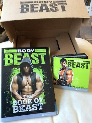 body beast boxed 7 Piece DVD Set Muscle Building Workout Programme New Sealed