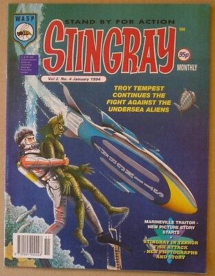 Stingray the Comic Vol 2 Issue 4 from January 1994