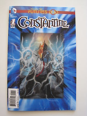CONSTANTINE 1. 1st PRINT, FUTURE;S END 3D LINTICULAR COVER. HELLBLAZER. DC. 2014