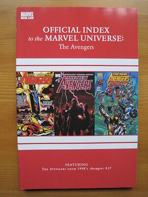 Official Index of the MARVEL UNIVERSE  # 15 - AVENGERS,THOR,CAPTAIN AMERICA.2010