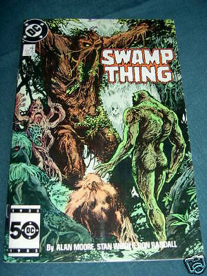 SWAMP THING  47. By ALAN MOORE & STAN WOCH. DC.1986