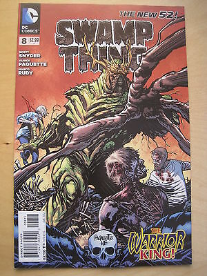 Swamp  Thing  #  8 . By  Scott Snyder.   The New 52. Great Cover ! Dc. 2012
