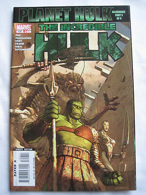 THE INCREDIBLE  HULK  100. GIANT SIZE by  PAK, PAGULAYAN & FRANK.  MARVEL.2007