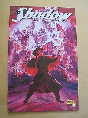 The SHADOW ANNUAL 1 by SNIEGOSKI & CALERO. DYNAMITE. 2012