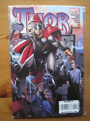 THOR  600. KING SIZE SPECIAL COIPEL COVER - STRACZYNSKI, MORALES etc.MARVEL.2009