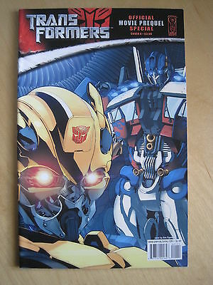 Transformers : Official Movie Prequel Special. Cover A. Idw. 2008