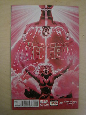 UNCANNY  AVENGERS  9  by REMENDER & ACUNA.  MARVEL. 2013